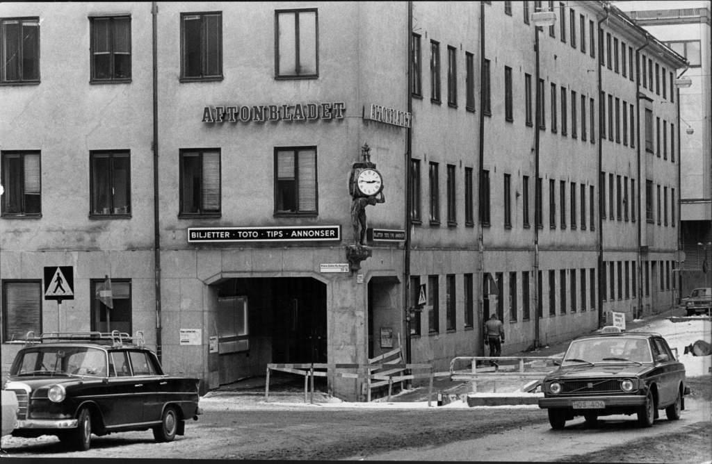 Aftonbladets redaktion i Klarakvarteret i Stockholm